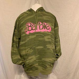 Camouflage Barbie hoody